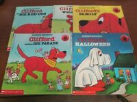 Lot of 5 Clifford The Big Red Dog Bridwell Children Kids Books MIX UNSORTED $8.49