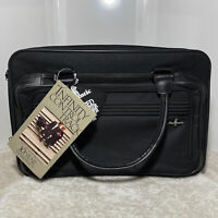 ATLANTIC LUGGAGE PROFESSIONAL SERIES BLACK CARRY ON TOTE BUISNESS SHOULDER BAG