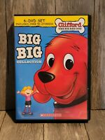 Clifford The Big Red Dog Big Big Collection 6 DVD Set OVER 50 Stories Scholastic $32.95