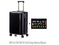 BTS X Samsonite RED Dynamite Luggage Suitcase Limited Free stickers DHL