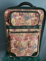 CLASSIC DISNEY SUITCASE ON WHEELS WITH PULL HANDLE