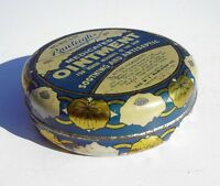 Old Antique Lithograph Medicine Tin RAWLEIGH'S MEDICATED OINTMENT