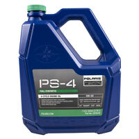 Polaris 1 Gal PS-4 Full Synthetic Oil 5W-50 ACE General Ranger RZR Sportsman OEM