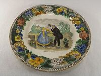 Early 19th C. Creil Transfer Ware Faience Plate Montereau L. Lebeuf amp; Thibault