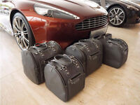 Aston Martin Virage Volante Luggage Baggage Bag Case Set