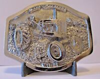 Allis Chalmers WD-45 1953 Tractor SILVER Belt Buckle Limited Edition  048/250 ac