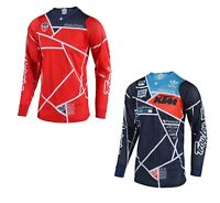 Troy Lee Designs TLD SE Air Jersey Metric Moto ATV MX KTM Red Navy 3021099
