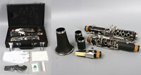 Professional C key Clarinet Ebonite Wood Nickel Plated Key With Case Accessories