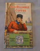 1910's Old Reliable Coffee Drawing Book Advertising  Booklet