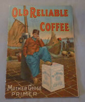 1911 Old Reliable Coffee Mother Goose  Advertising  Booklet