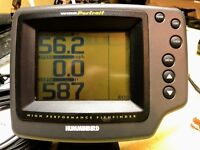 Humminbird Wide Portrait High Performance Fish Finder w/Transducer