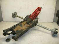 1993 Polaris 350L Trail Boss ATV Rear Swing Arm & Axle Assembly with Shock