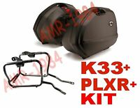 Set Suitcases Side Kappa K33 + Frame Honda Cbf1000 2010 Plxr208+777kit K33n