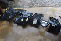 FA FRONT REAR FENDERS 13 POLARIS SPORTSMAN 550 4X4 ATV NO SHIP, MUST PICK UP