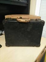 VINTAGE BELL SYSTEM B LINESMAN TOOL BOX CASE machinist telephone repair