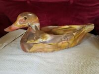 Vintage Comanche Pottery Duck Decoy