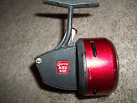 Vintage Garcia Abu 505 Sweden casting fishing reel bass boat  RED