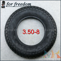 3.50-8 Tire Tyre 8-inch tires for Tractor farm vehicle ATV Quad Monkey Bike