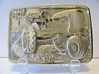 1940 Allis Chalmers C Tractor PEWTER Belt Buckle LE Blank of 250 ac Spec Cast