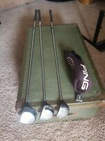 Ping i3 17-4 Wood-Steel Driver Set1, 3, and 7 JZ Stiff