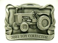 Allis Chalmers D21 Series II Tractor Farm Toy Collector 2007 Belt Buckle 1st ac