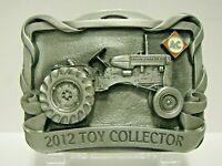 Allis Chalmers D12 D10 Tractor Farm Toy Collector 2012 Belt Buckle 6th Series ac