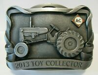 Allis Chalmers D12 D10 Tractor Farm Toy Collector 2013 Belt Buckle 7th Series ac
