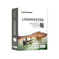 Humminbird Lakemaster Digital GPS Maps Western States