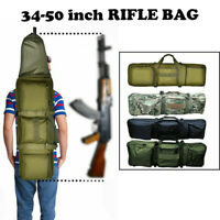 New 85-125CM Tactical Gun Rifle Case Backpack Military Bag Padded Long