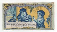 1890s Sewing Trade Card for Elliptic Large Eyed Needles
