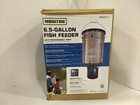 Moultrie 6.5 Gallon fish feeder, with programmable timer