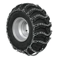 ATV Tire Chain V-Bar 2 Spaces for Polaris Front Tire 25 x 8 x 12