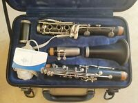 Vintage Buffet Clarinet with case
