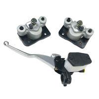 Front Brake Caliper &Brake Master Cylinder for Arctic Cat 250 300 400 500 w/Pads