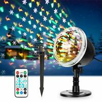 Christmas Tree Laser Projector Shower Light LED MOTION Outdoor Landscape Lamp
