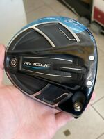 Auth. Callaway Rogue 10.5 Degree Driver Head Only Right Handed RH