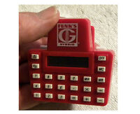 Vintage Colorful Funks G Hybrid Calculator-Paper Clip, FUNK Seed Corn