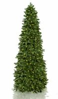 Easy Treezy 7.5' Natural Pine Christmas Tree with 370 Warm White LED Lights