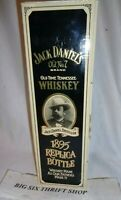 Jack Daniels Whiskey Old No. 7 Replica Bottle 1895 With Original Box