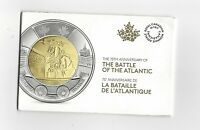 2016 Battle of the Atlantic Set of 5 Mint Sealed Canadian Two Dollar**