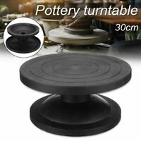 30cm Pottery Banding Wheel Metal Turntable Turnplate Clay Sculpture Model Tool