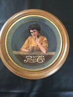 PEPSI COLA GIRL Hoyle Collectors Edition Framed Plate For Decor, #2312 Of 5000