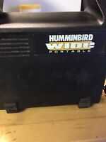 HUMMINGBIRD Wide 128 Portable Used Untested Sold As Is