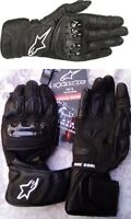 NEW ALPINESTARS SP-2 v2 LEATHER MOTORCYCLE GLOVES, Men's L, & FREE CASIO WATCH!!