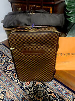 AUTHENTIC Louis Vuitton Pegase 70 Ebene Damier Luggage Largest Piece from Set