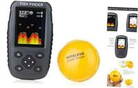 Venterior Portable Rechargeable Fish Finder Wireless Sonar Sensor Fishfinder Dep