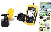 LUCKY Wired Fish Finder Sonar Sensor Transducer Water Depth Finder Portable Fish