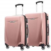 Samsonite Winfield 3 DLX Hardside Expandable Luggage with Spinners Rose Set