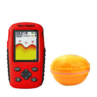 Wireless Fish Finder Portable Sonar Sensor Echo Sounder Alarm Detector CA