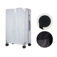 New 20'' Travel Spinner Luggage Set Bag ABS Trolley Carry On Suitcase Silver